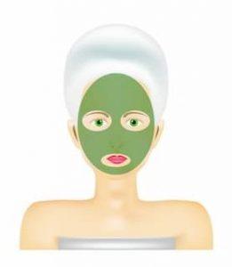 recette de masque à l'argile verte